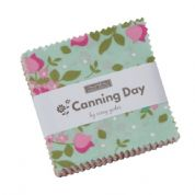 "Canning Day - Mini Charm by Corey Yoder for Moda Fabrics - 42 x 2.5"" fabric squares"